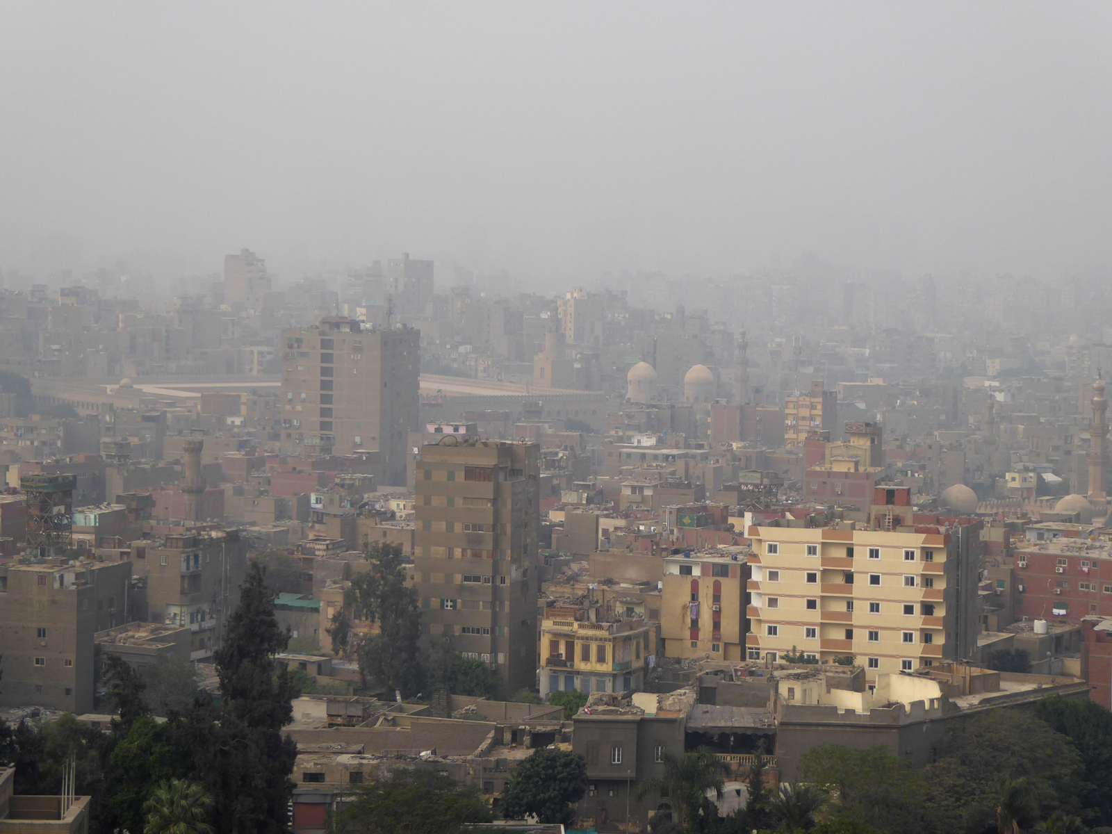 Le Caire suffoque sous la pollution.
